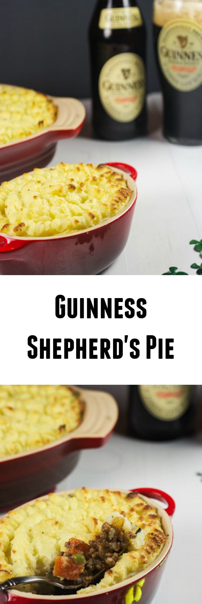 Guinness Shepherd's Pie | girlinthelittleredkitchen.com