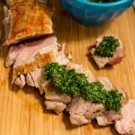 Pork Tenderloin with Ramp Chimichurri-2