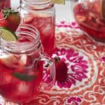 strawberry rose sangria