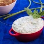 garlic scape dip