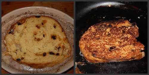 Panetonne French Toast