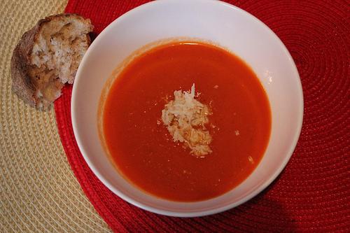 Tomato & Crab Soup