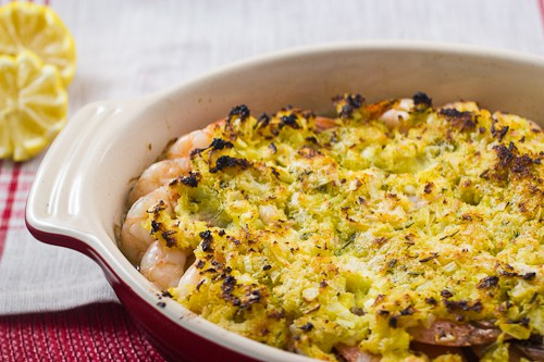 Baked Shrimp Scampi - The Girl In The Little Red Kitchen