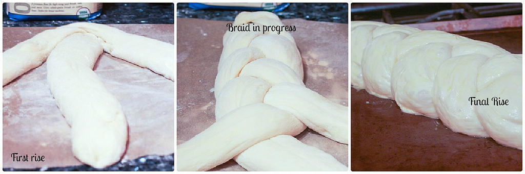 Braided Challah Progress #SundaySupper