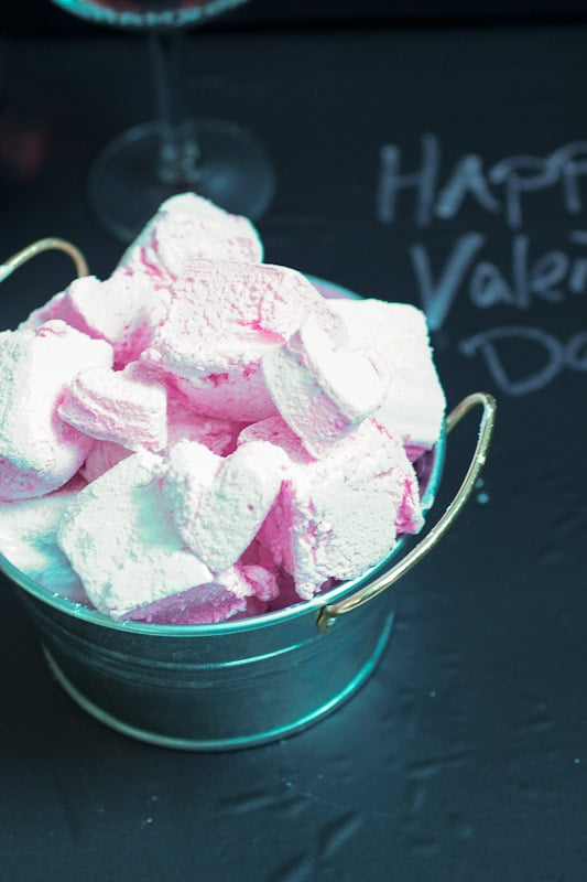 Homemade Chambord Marshmallows from The Girl In The Little Red Kitchen