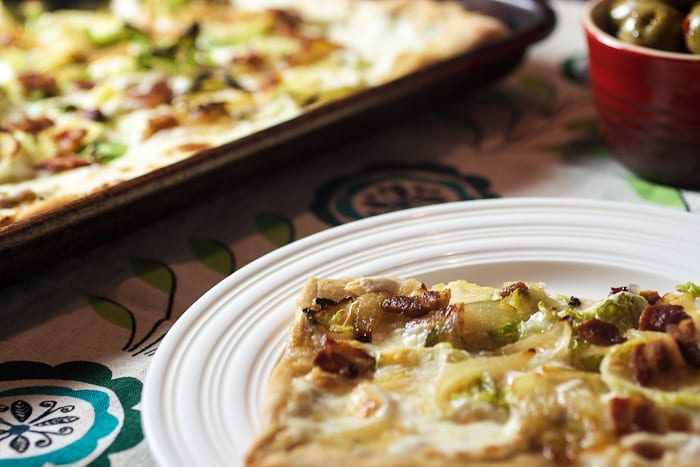 Brussels Sprouts Pizza – Guest Post at Daily Dish Recipes