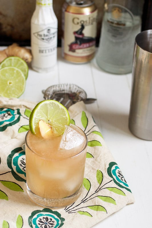 Moscow Mule from The Girl In The Little Red Kitchen