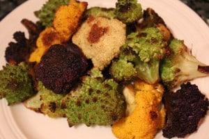 Roasted Cauliflower mix