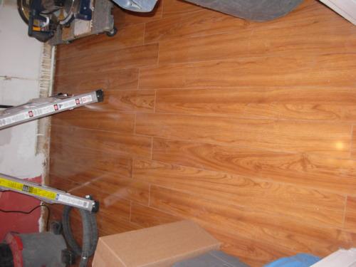 Kitchen Renovation – Day 2: Flooring