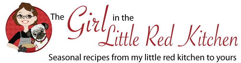 The Girl in the Little Red Kitchen