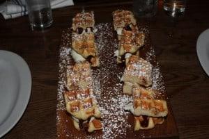 waffle & ice cream sandwiches