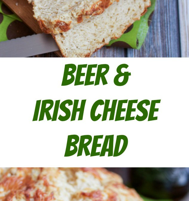 Beer and Irish Cheese Bread