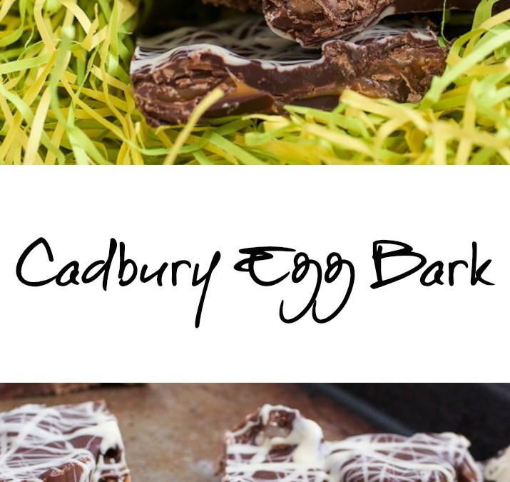 Cadbury Egg Bark