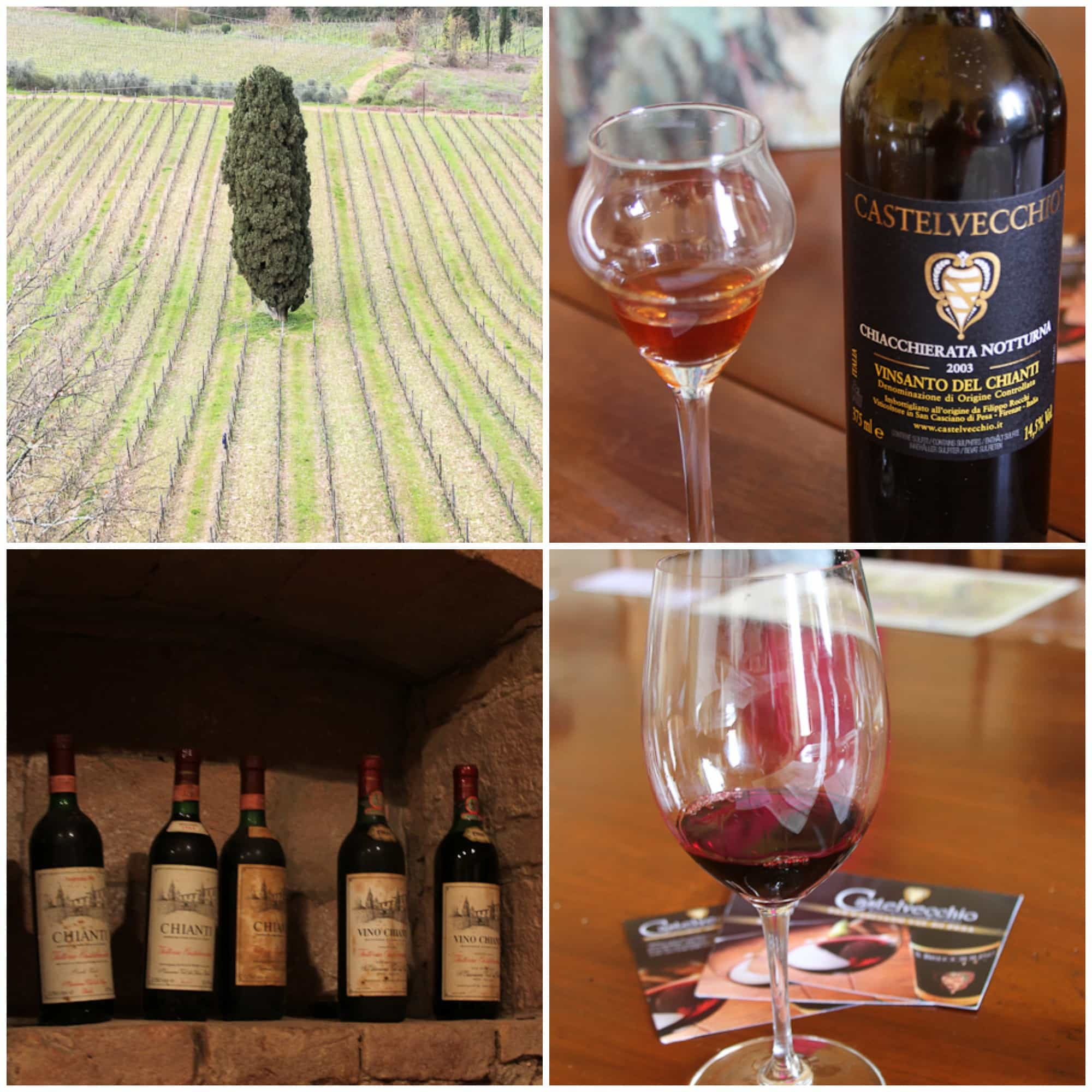 Castelvecchio vineyard from The Girl In The Little Red Kitchen