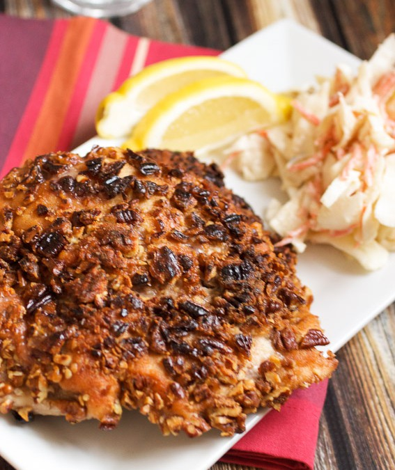 Pecan Crusted Chicken – Review of A Taste of Pesach
