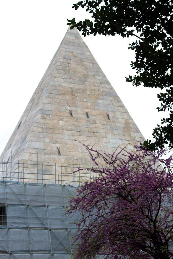 Pyramid in Testaccio