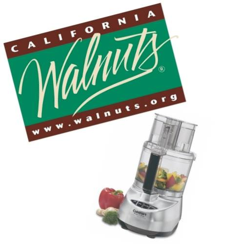 California Walnuts/Cuisinart giveaway