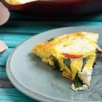 Ricotta, Tomato and Ramp Frittata-3