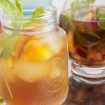 Boozy Peach Mint Ice Tea-2