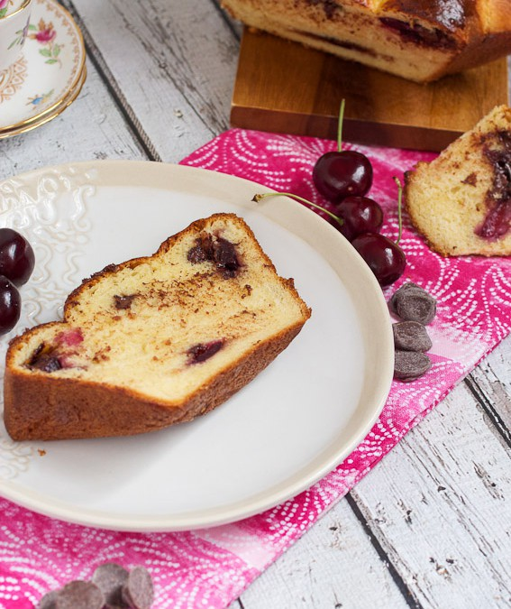 Chocolate Cherry Brioche