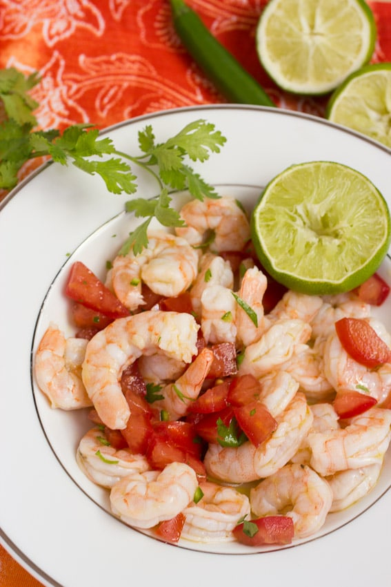 Shrimp Ceviche {Review of Authentic Mexican Cooking} | The Girl in the ...