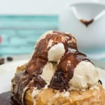 Coffee and Donuts Ice Cream Sundae-3