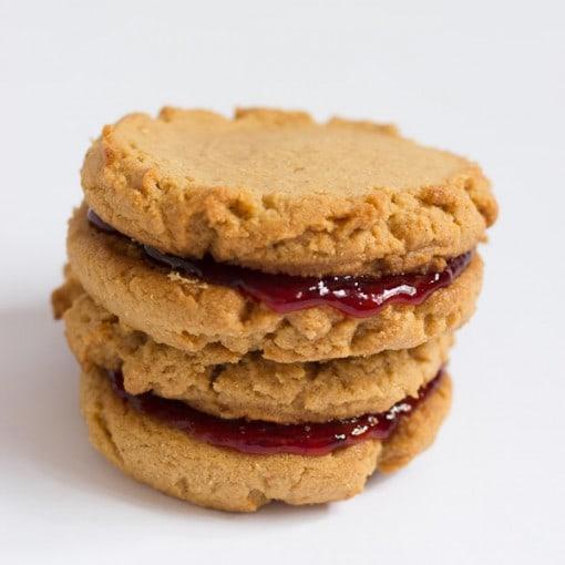 Home / Bake Shop / Cookies / Peanut Butter & Jelly Sandwich Cookies