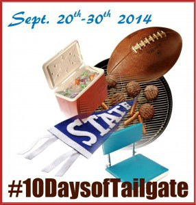 10 Days of Tailgate Logo