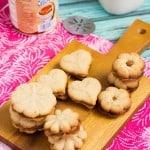 Cinnamon Dulce de Leche Spritz Sandwich Cookies-3