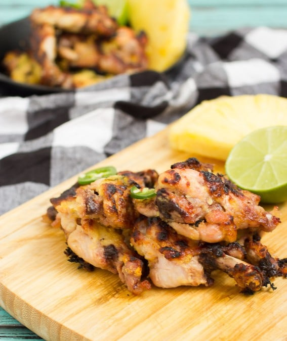Pineapple Chile Lime Wings #10DaysofTailgate