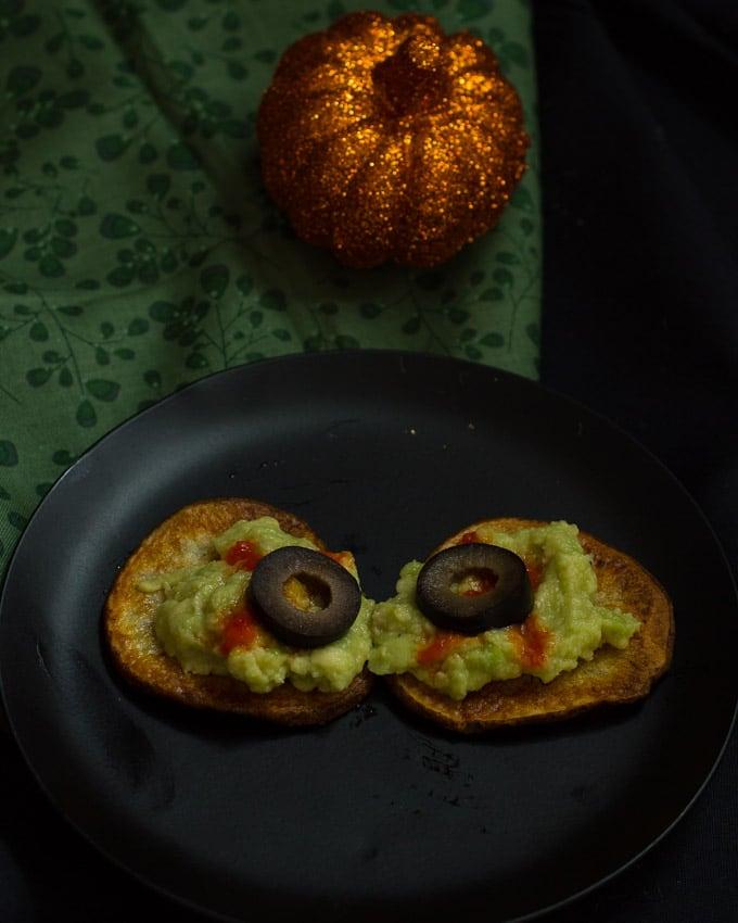 Roasted Potato Eyeballs #SundaySupper | The Girl In the Little Red Kitchen
