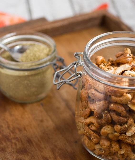 Za'atar Spiced Cashews #10daysofTailgate