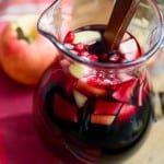 Apple Pomegranate Sangria