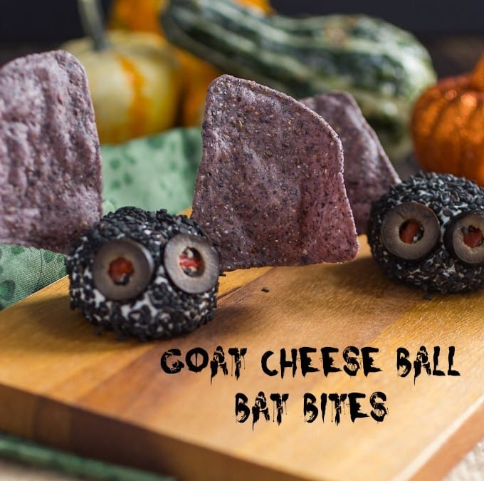 Halloween Cheese Ball Monsters