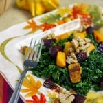 Massaged Kale Salad with Butternut Squash and Beets-2