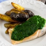 Salmon with Kale Chimichurri-2