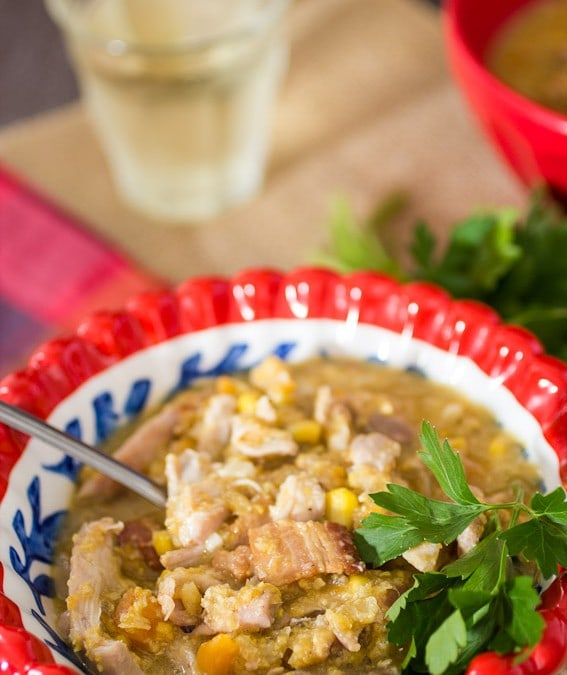 Chicken and Corn Chowder #SundaySupper