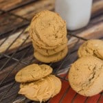 Maple Peanut Butter Sandwich Cookies-2