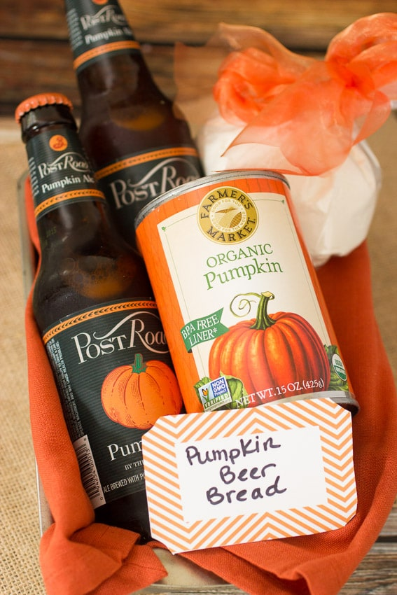 Pumpkin  Beer Bread from The Girl In The Little Red Kitchen