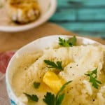 Roasted Garlic Cauliflower Mash-2