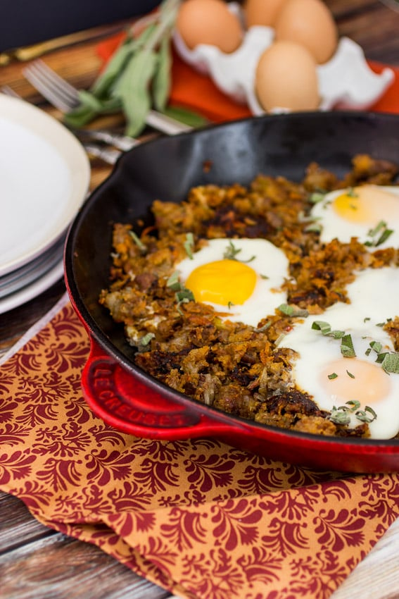 Stuffing Hash   The Girl In The Little Red Kitchen