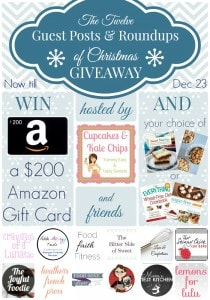 12 Guests Posts of Christmas Giveaway Collage