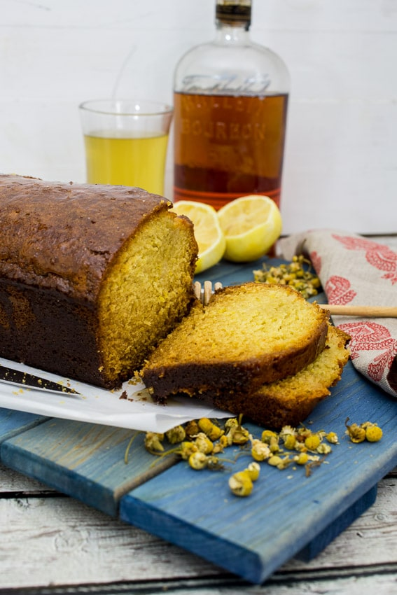 Hot Toddy Tea Cake - girlinthelittleredkitchen.com