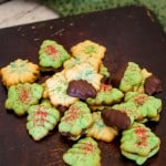 Peppermint Spritz Cookies-4