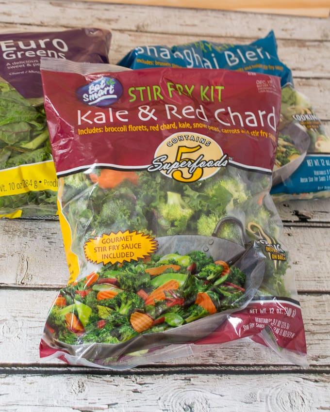 Eat Smart Salad and Stir Fry Kits