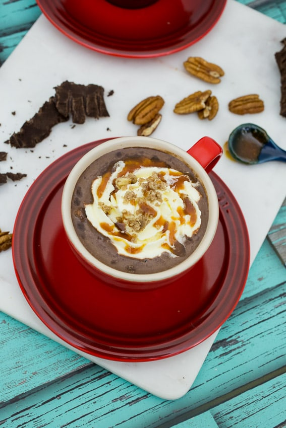 Turtle Hot Chocolate- The Girl In The Little Red Kitchen