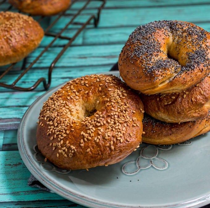 New York Style Bagels #SundaySupper