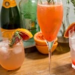 Blood Orange Rosemary Spritzer