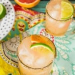 Grapefruit Margarita with Chile Lime Rim-4