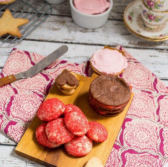 4 Variations on a Sugar Cookie
